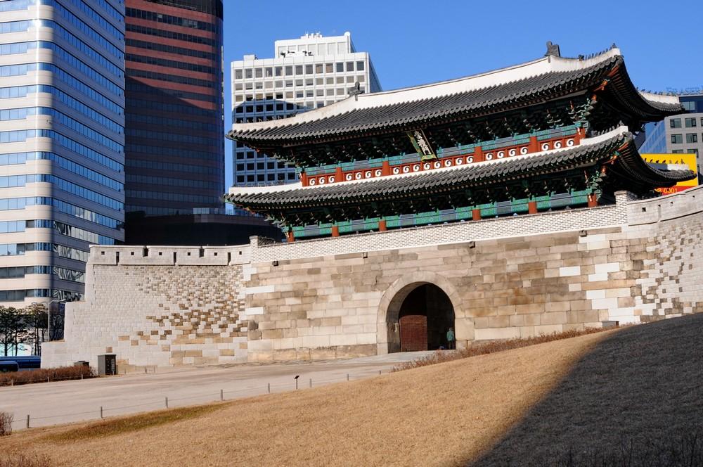Ворота Намдэмун в Сеуле