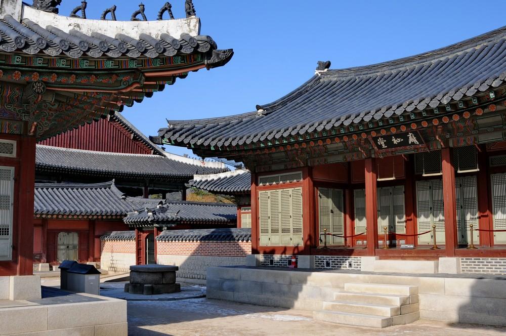 Дворец в центре Сеула