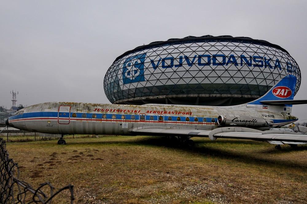 Каравелла авиакомпании JAT в музее авиации в Белграде