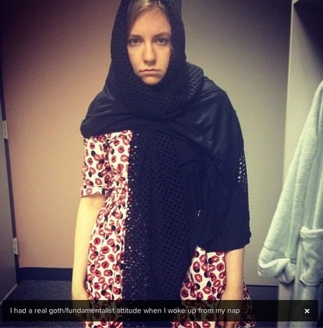 lena-dunham-muslim-veil