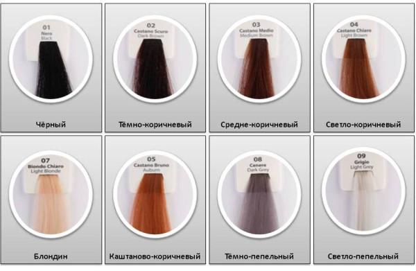 Палитра камуфляж для волос Kmax_Италия_2