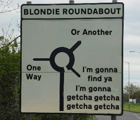 blondie sign