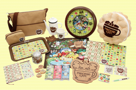 full pokemon cafe collection