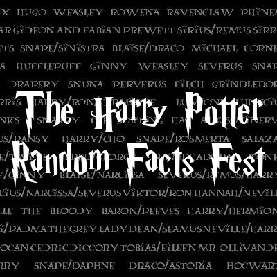 The Harry Potter Random Facts Fest