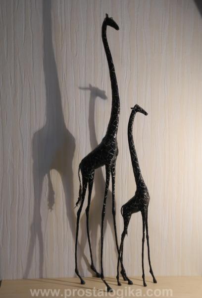 Папье маше жираф