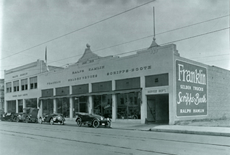 Franklin Dealership 1911