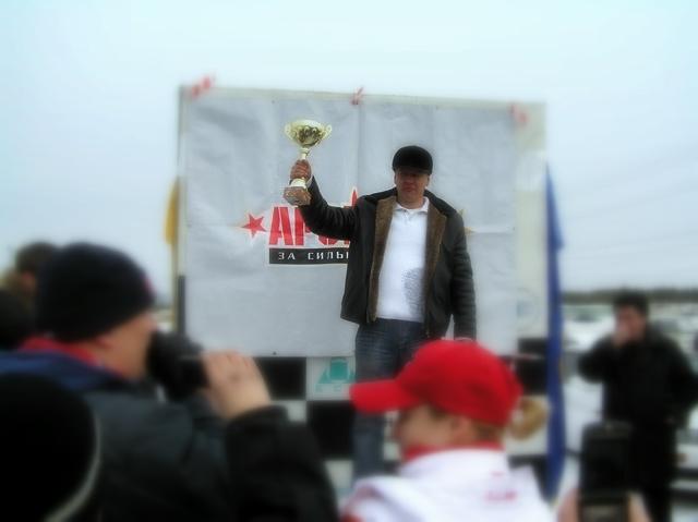 "17.02.08, DRIFT EMOTION ZIMA 07/08, финал, 1-е место в классе ""Задний привод""... (photo by Exty)"