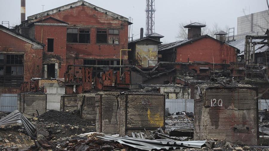 Стало известно, что бывший завод серп и молот горел уже неоднократно