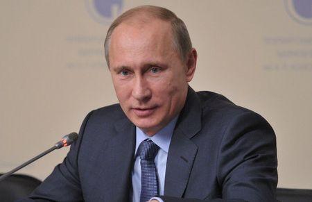 Путин с микрофономъ