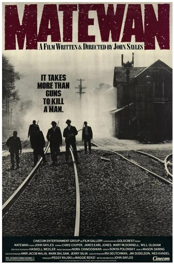 """Вольный перевод слогана фильма """"Требуется что-то большее, чем ружье, чтобы убить человека"""""""