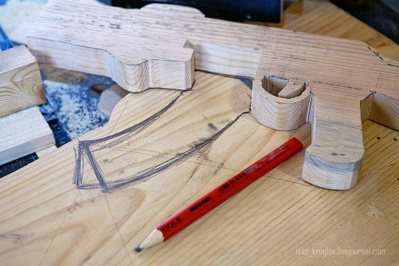 Автомат калашникова деревянный своими руками