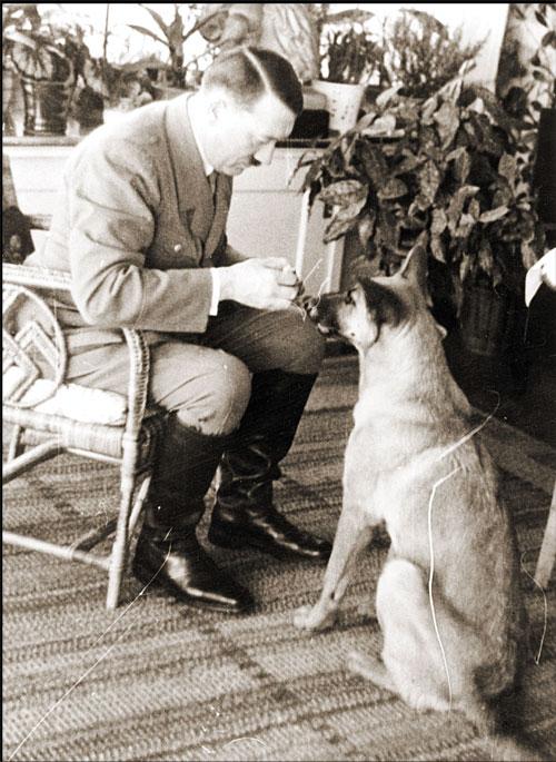 Hitler and Blondie