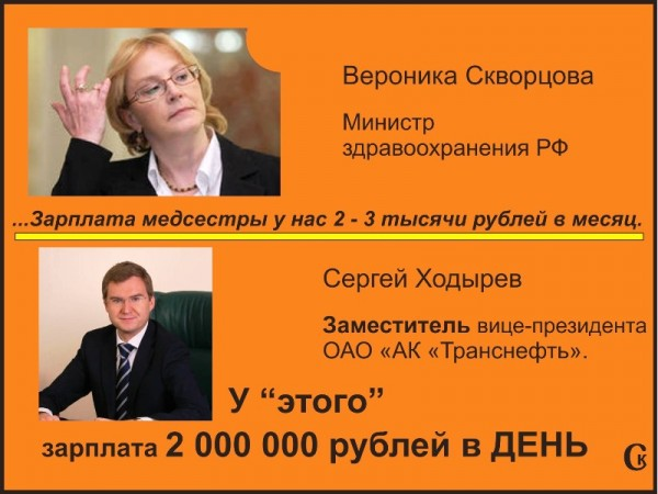зарплата вице-президента Транснефти