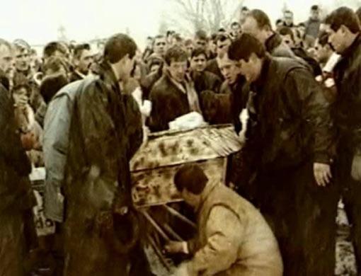 похороны маслова