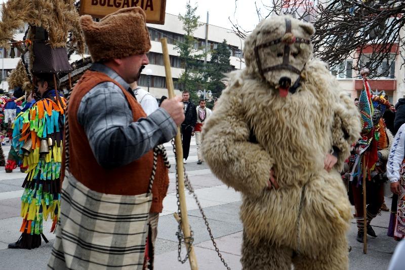 Медведь и поводырь