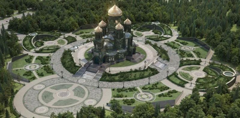 Завершено строительство Главного храма ВС РФ.
