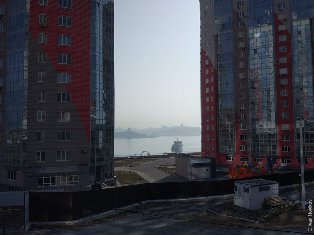 Обои дорожки, Корабли, Владивосток, сопки, дома, россия. Города foto 18