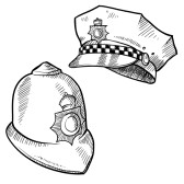11575089-doodle-style-police-hat-or-and-english-bobby-cap-in-vector-format