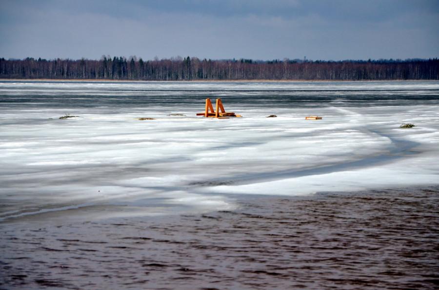 Озеро Сиг в Селигерских краях.