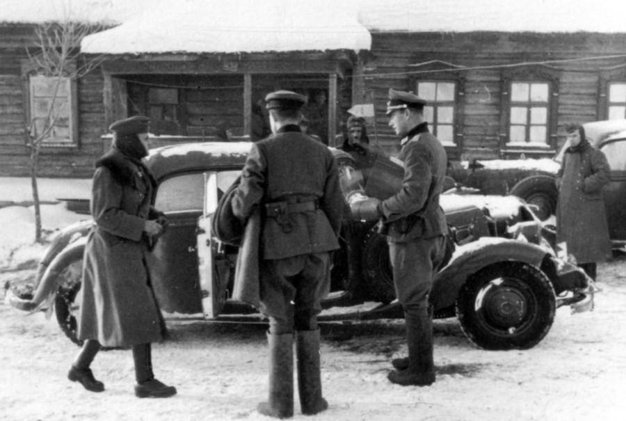 0495 General Schmidt verlДsst die Division am 30.12.1941