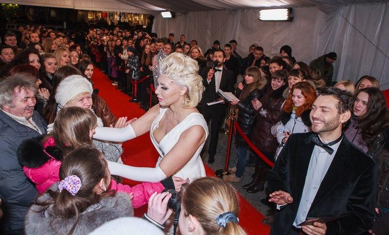 Светлана Вольнова на церемонии Viva 1