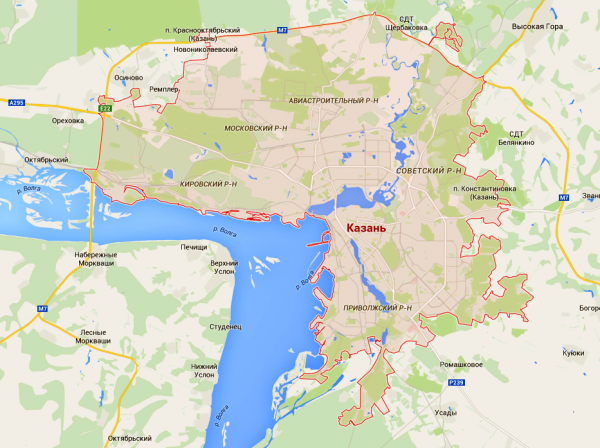 Уфа - Казань