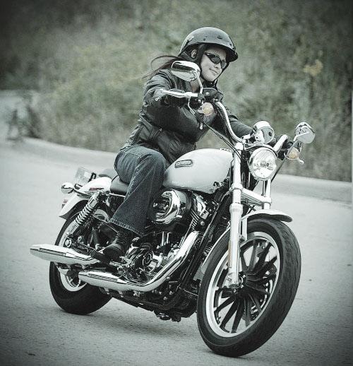 1. Harley Davidson Sportster--