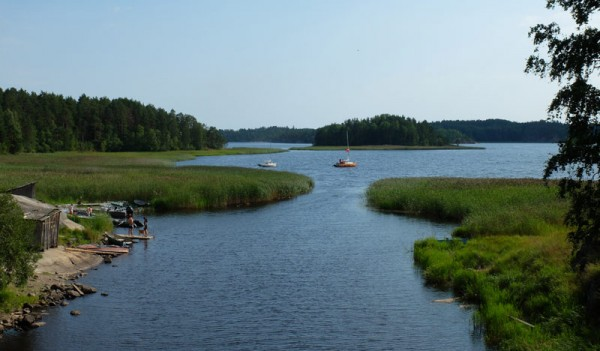 Отчет о парусном походе по Ладожскому озеру