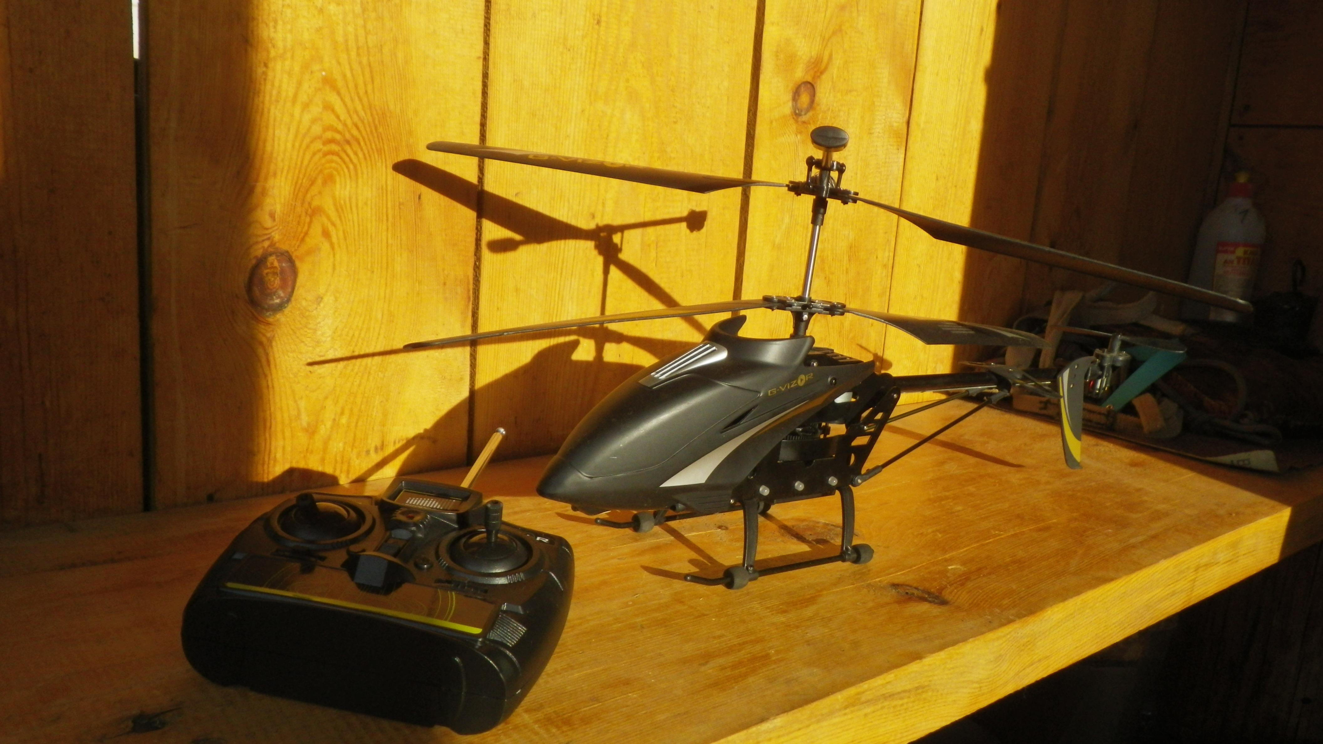 вертолет и пульт