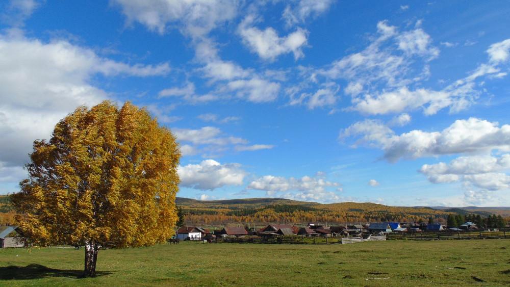 Деревенские панорамы