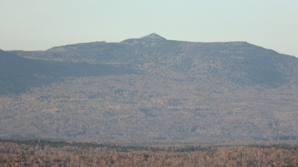 Вид с Малого Баштура на вершину хребта Аваляк - Абараш-баш