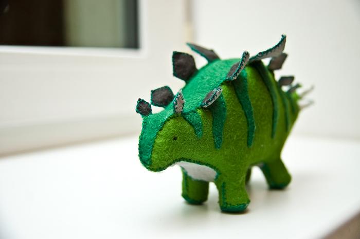 Игрушки динозавры своими руками