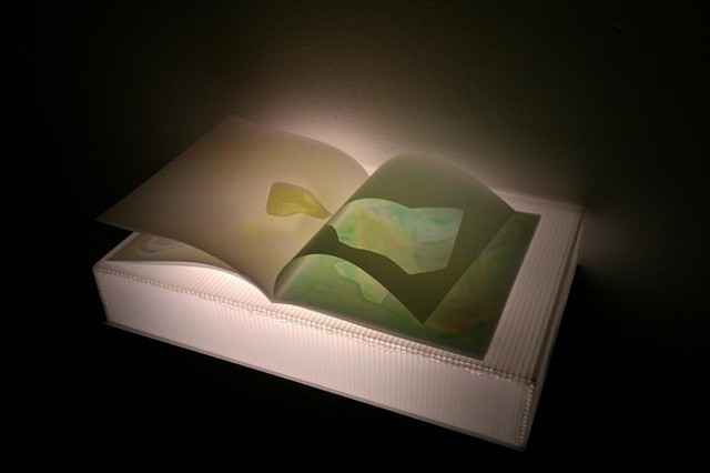 Mylar Books on Light Box - Book 2