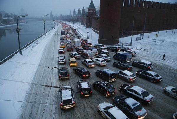Москва-пробки