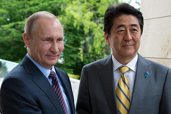 О визите японского премьер-министра в Россию