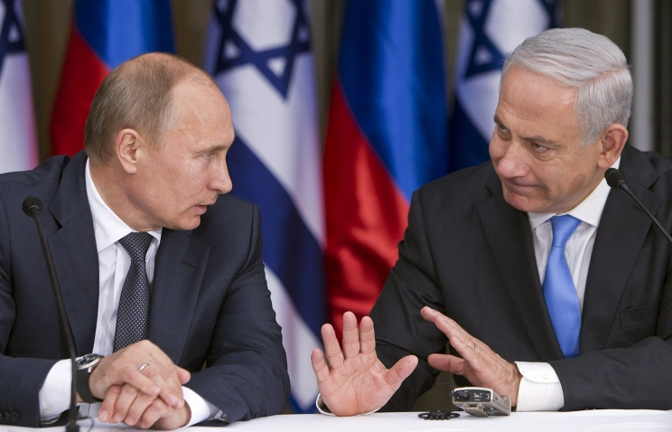 Визит премьер-министра Израиля  в Россию