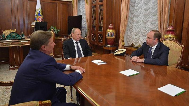 О смещении Сергея Иванова и назначении Антона Вайно  главой Администрации президента