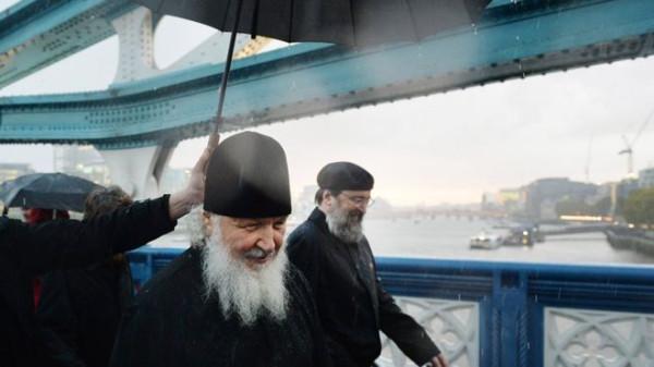 Патриарх Кирилл встретился с королевой Великобритании