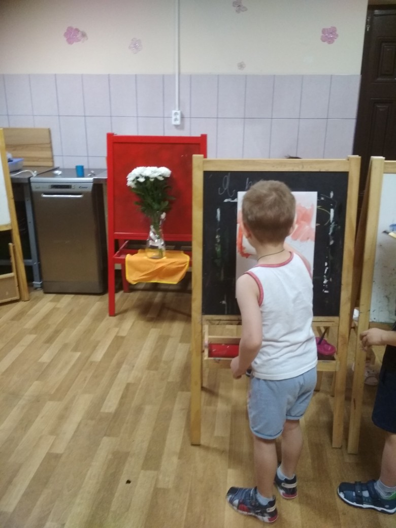 Натюрморт с натуры. Работа с детьми 5-6лет.