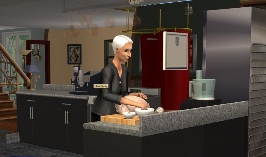 0551 Eva cooks