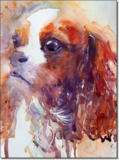 Sweet_Eyes_King_Charles_Cavalier_by_Jean_Haines_at_Stockbridge_Gallery_Dogs_in_Art__27486_zoom