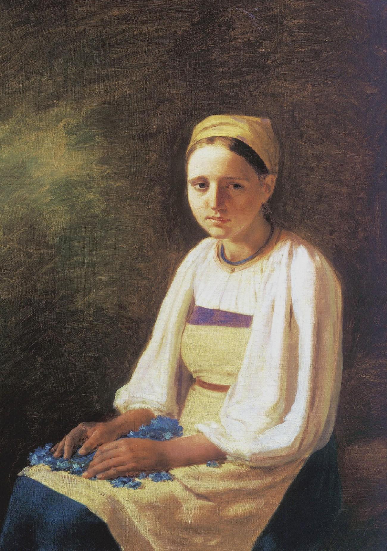 aleksei-venetsianov-a-peasant-girl-with-cornflowers-1820s-e1268418672311