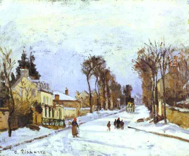 the-versailles-road-at-louveciennes-1869 46х38 Walters Art Gallery, Baltimore, MD, USA.jpg