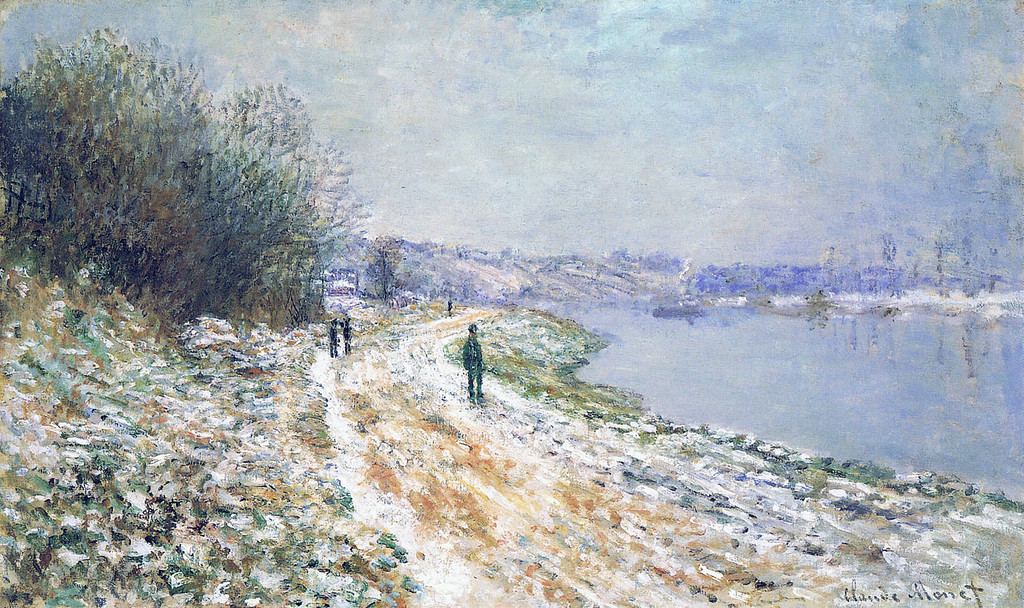 Буксирный путь в Аржантёе. Зима 1875г.jpg