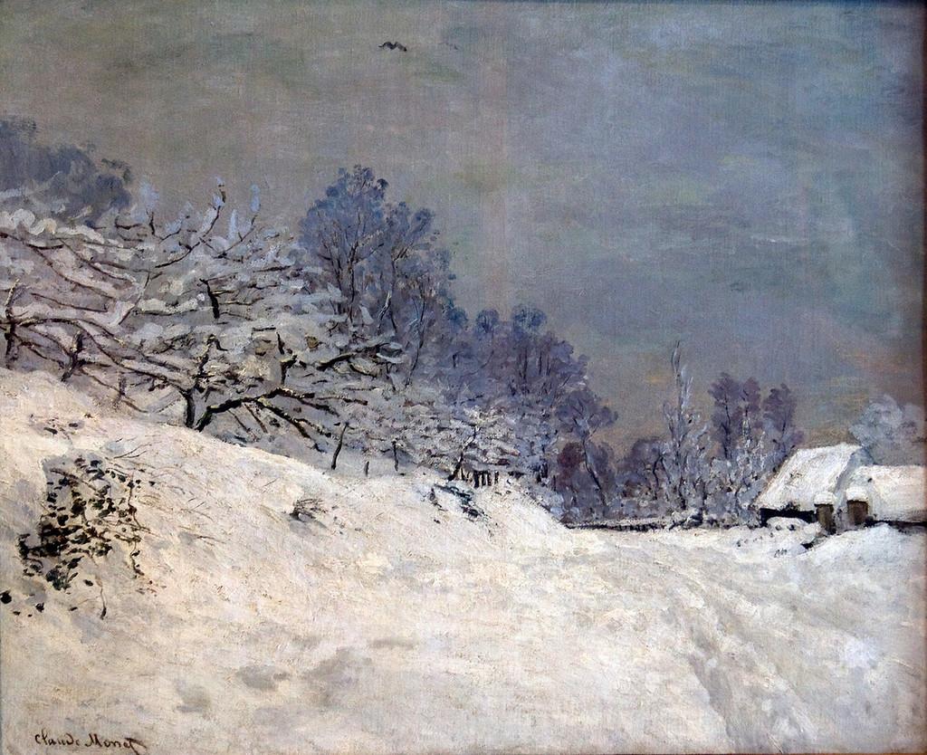 Дорога на ферму Сен-Симон зимой. 1867г.jpg