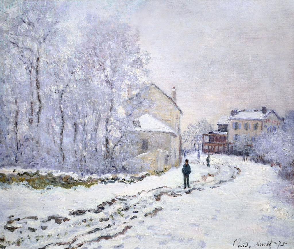 Снег в Аржантёе 1875г.jpg