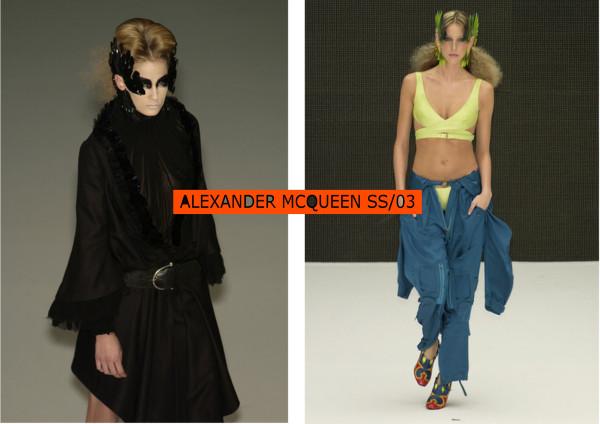 ALEXANDER McQUEEN SS03