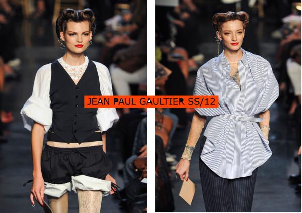 JEAN PAUL GAULTIER SS 12