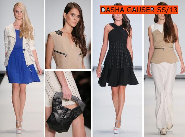 DASHA GAUSER SS13.