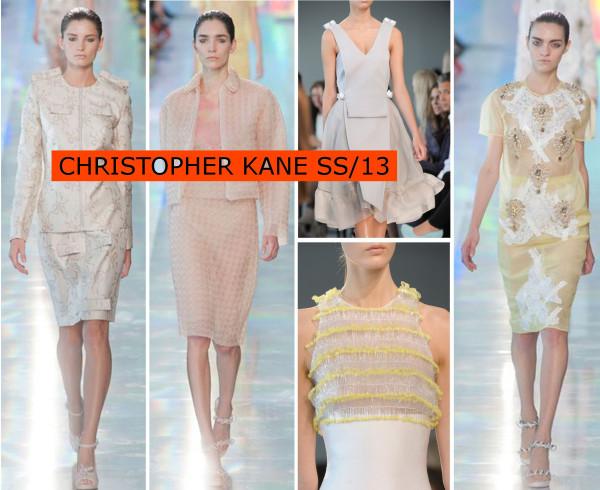 Christopher Kane SS13..